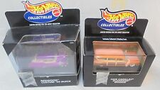 Lot of 2 Hot Wheels Collectibles Limited Edition for Adult Collector 1:64 MIB