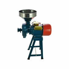 Electric Grinder Mill Grain Corn 110V Wheat Feed/Flour Wet Dry Cereal Machine US