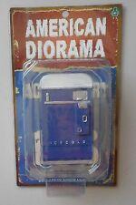 """Blue Soda Vending Machine American Diorama 1:18 3.75"""" Accessory w Pepsi Decal"""