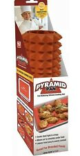 """Pyramid Pan - Fat-Reducing Silicone Cooking Mat, For Oven & Microwave 16"""" x 11"""""""