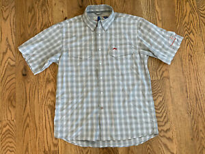 Rare Simms Cor3 YC Yellowstone Club Big Sky Shirt Pearl Snap Fly Fishing NWT