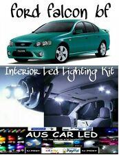 Ford Falcon  BA BF XT XR6 XR8 WHITE LED Interior Light bulb globe upgrade Kit