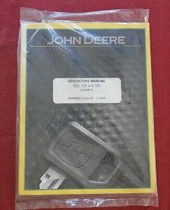 "John Deere 620 720 725 Carico "" Operatori Owners Istruzioni Manuale Menta"