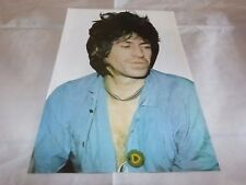 ROLLING STONES - KEITH RICHARDS - Mini poster couleurs 9 !!!!!! VINTAGE 70'S !!