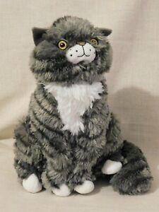 "Sainsbury's Original Mog the Cat Soft Toy Plush Christmas Advert 2015 12"""