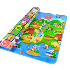 2mx1 8m L Baby Kids Floor Play Mat Rug Picnic Cushion Crawling Waterproof