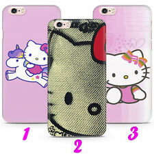 HELLO KITTY 2 CARTOON CAT FUNNY Case Cover iPhone 4 5 SE 2 6 7 8 X s MAX plus XR
