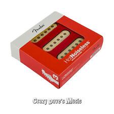 Fender Hot Noiseless Stratocaster Pickup Set Bridge Middle Neck Strat Pickup NEW
