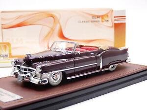 GLM 119103 1/43 1951 Cadillac 62 Convertible Resin Model Car