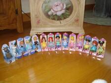 Disney Princess Mini Toddler Sparkle Dolls with Kristoff & Sven 14 Doll Set