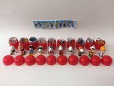 Kinder Surprise Snoopy 2 Peanuts Sport Set 10 BPZ Toys JAPAN 2002 VERY RARE