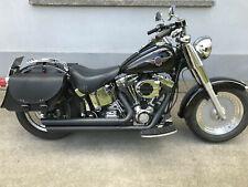 Satteltaschen Set Basic Bags Koffer Harley Davidson Echtleder Seitentasche 18L