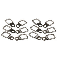 12pcs Stainless Steel D Ring Tie Downs for Jeep Wrangler Trunk Cargo