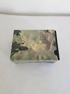 Boite écrin vide montre chronometre Rolex Oyster Perpetual