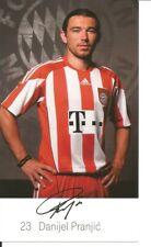 FC Bayern München Autogrammkarte Danijel Pranjic