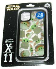 11 XR iPhone Case Baby Yoda Mandalorian DTECH Disney Parks Star Wars 3d Child