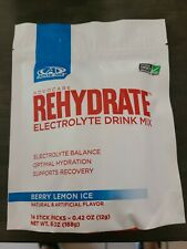 2 Advocare Rehydrate- 14 stick packs- Berry Lemon Ice n Lemon Lime
