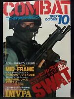Combat Guns & Military Magazine Japanese Text Japan Issue 10 October 1997