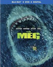 THE MEG(BLU-RAY+DVD+DIGITAL)W/SLIPCOVER NEW UNOPENED