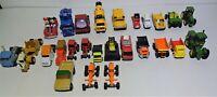 Assorted Lot of 26 Tonka, ERTL, John Deere, Buddy L. Trucks, Tractors VINTAGE