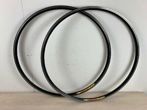 2 x Mavic CXP22 Road Wheel Rims - 622 x 15 / 700c - 32 Holes