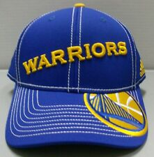 buy popular dc1c8 5f6b8 Golden State Warriors adidas NBA Blue Structured Snapback Adjustable Hat Cap