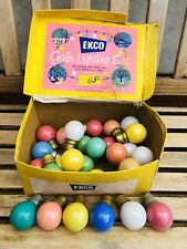 28 Coloured Light-bulbs vintage by EKCO GALA LIGHTING SET BOXED WORKING