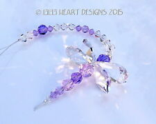 m/w Swarovski Crystal RARE Beads PURPLE DRAGONFLY Suncatcher Lilli Heart Designs