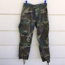 US Military BDU Camo Woodland Camouflage Combat Pants Small Reg