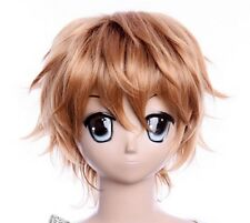 W-294 Shiki Toru Mutant cosplay blonde blond 32 cm Perruque Wig Perruque Anime Manga