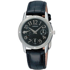 J.SPRINGS LADIES WATCH BLL008 Genuine Leather Strap Retrograde Multi calendar