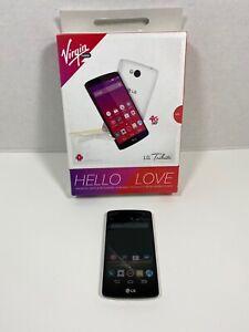 LG Tribute - 4GB - White (Virgin Mobile / Boost Mobile) Smartphone