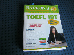 BARRON'S : TOEFL iBT - The Leader in Test Preparation 14th edition, mit 2 CD ROM