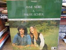 Annie Nobel et Philippe Richeux : chroniques terriennes -  MN Edition 10.021