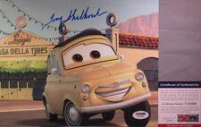 LUIGI!!! Tony Shalhoub Signed CARS 8x10 Photo #1 PSA/DNA Pixar