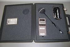 6645m GENERAL MICROWAVE RAHAM 481B  3 RADIATION HAZARD METER PROBE 83B