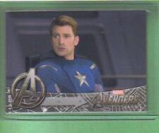 AVENGERS Movie Assemble Upper Deck Card Captain America #140