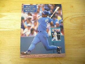 Beckett Baseball Card Monthly Magazine - February 1991 (George Brett) - VINTAGE