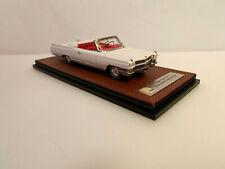1/43 1964 Cadillac Eldorado Convertible open white LE 100 pcs. GLM