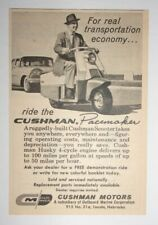 1959 Cushman Pacemaker Scooter Advertisement Lincoln, Nebraska