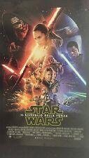 Star Wars Il risveglio della forza Manifesto Piegato Originale ITA 100X140cm