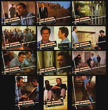 "12 Photos Spanish Clint Eastwood ""Escape from Alcatraz"" Richard Tuggle 1979"