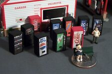 20 HO SCALE SODA POP Vending Machines Candy and Chips