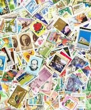 NEW ZEALAND 800 ALL DIFFERENT USED STAMPS