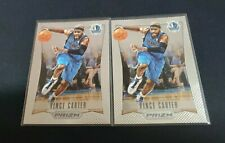 2012-13 Panini Prizm #36 VINCE CARTER 1ST YEAR PRIZM SP (2 CARD LOT)