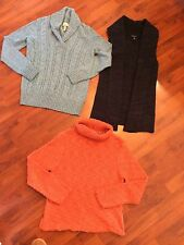 Women's Size Xs Petite Sweater Lot Bass Banana Republic Nordstrom