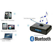 A2DP Bluetooth Music Audio Receiver Adapter For Sounddock II,iPod,iPhone 30pin