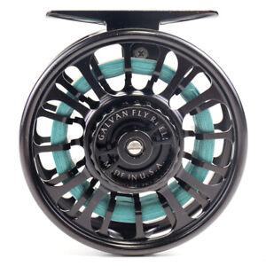 Galvan Torque T-4 Black Fly Reel - Mint Condition!