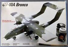 c1988 Testors 1:48 Scale, Rockwell OV-10A BRONCO Plane Model Kit, #506