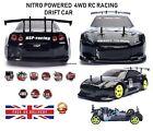 RC Car 4WD Nitro Gas Power Remote Control Car 1:10 Scale Road Drift Racing HSP
